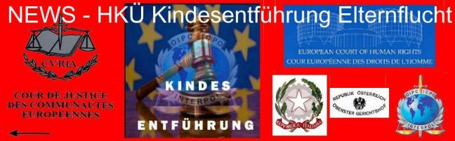 News HKÜ Kinderentführung Elternflucht -