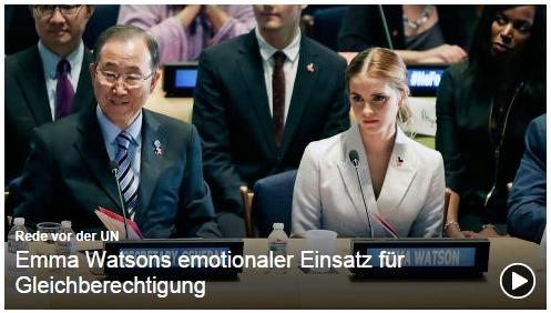 HeForShe - Ban Ki Moon, Emma Watson