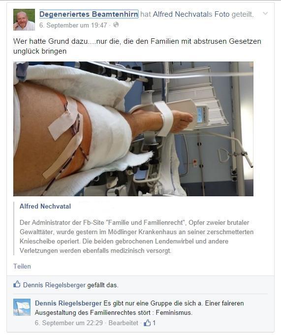 Attentat Vösendorf Administrator Familienrecht