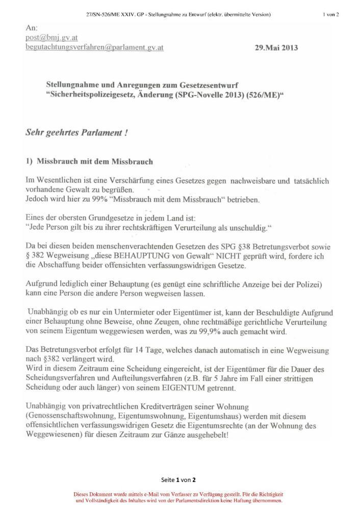 SPG §38 Seite 1
