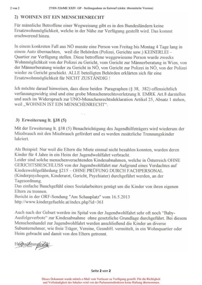 Betretungsverbot SPG §38 Seite2