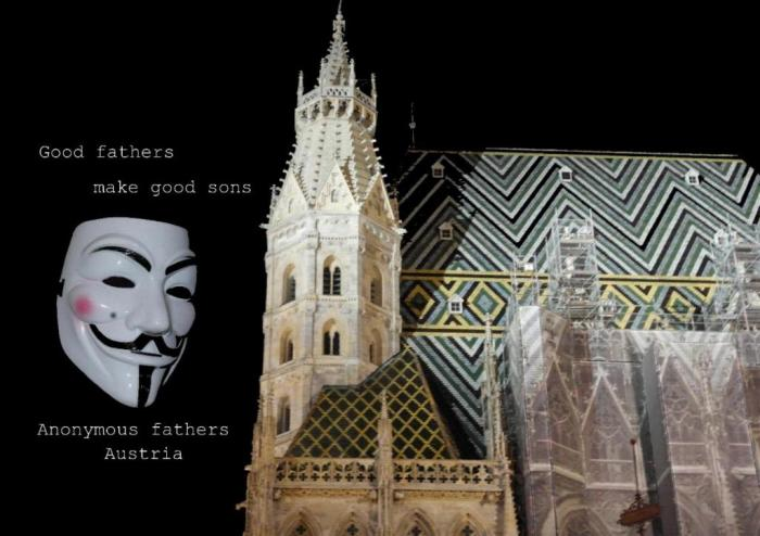 Anonymous fathers austria million mask march 2014