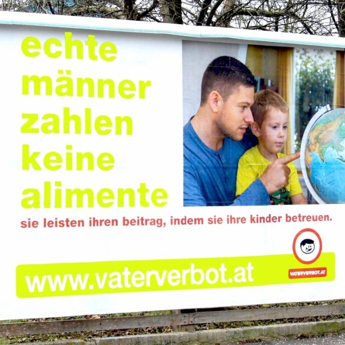 Vaterverbot Unterhalt Alimente Doppelresidenz