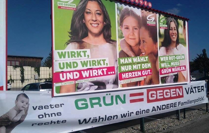 Die Grünen - Grün = GEGEN VÄTER