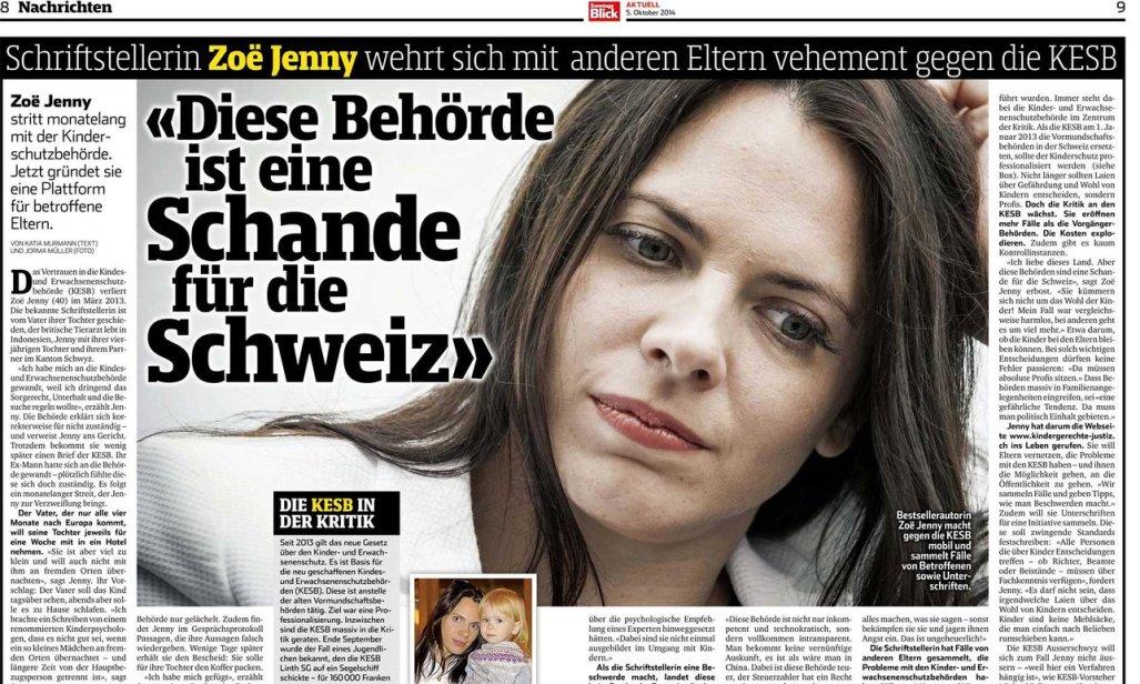 Behörde KESB Schweiz