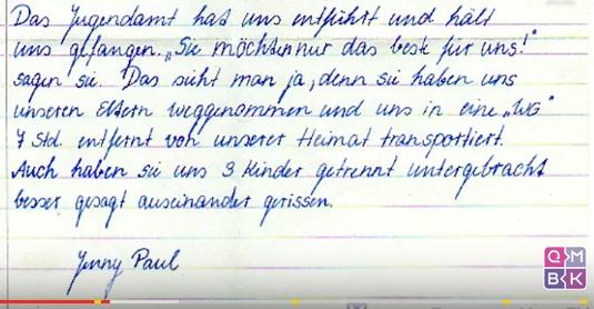 Menschenrechtsverletzung EMRK. Art.8 - Jugendamt