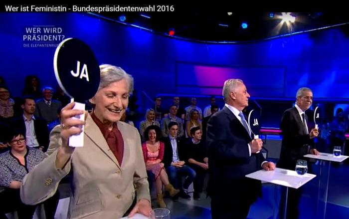Feministin Irmgard Griss - Bundespräsidentenwahl 2016