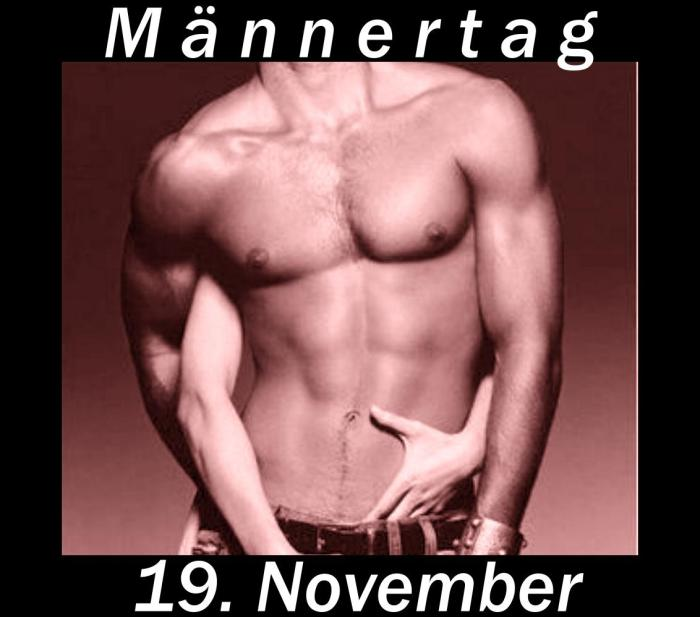 Wann ist Männertag - 19. November