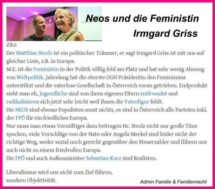 Irmgard Griss NEOS