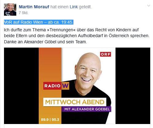 Martin Morauf - Alexander Göbel - Trennungen 11-01-2017