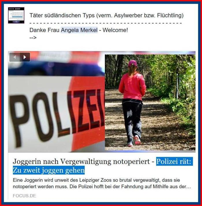 """Polizei: """"Frauen sollen nicht alleine joggen gehen"""""""