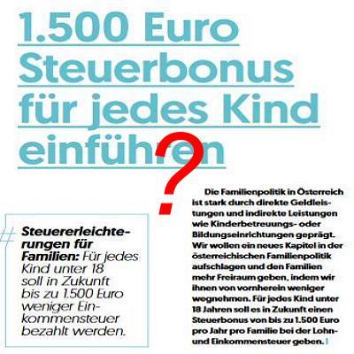 Steuerbonus
