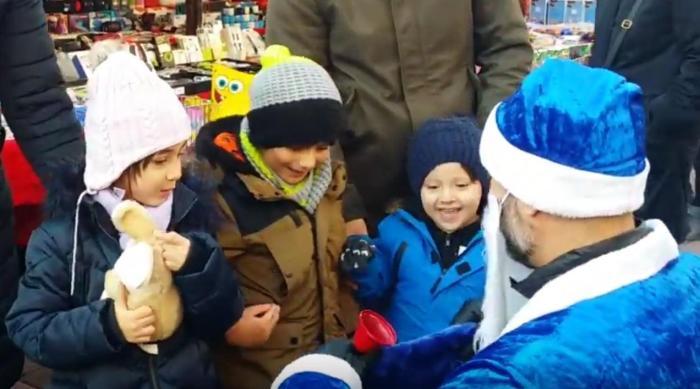 Ho Ho Ho - der blaue Weihnachtsmann in Wien