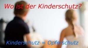 Symbolbild Kinderschutz Opferschutz