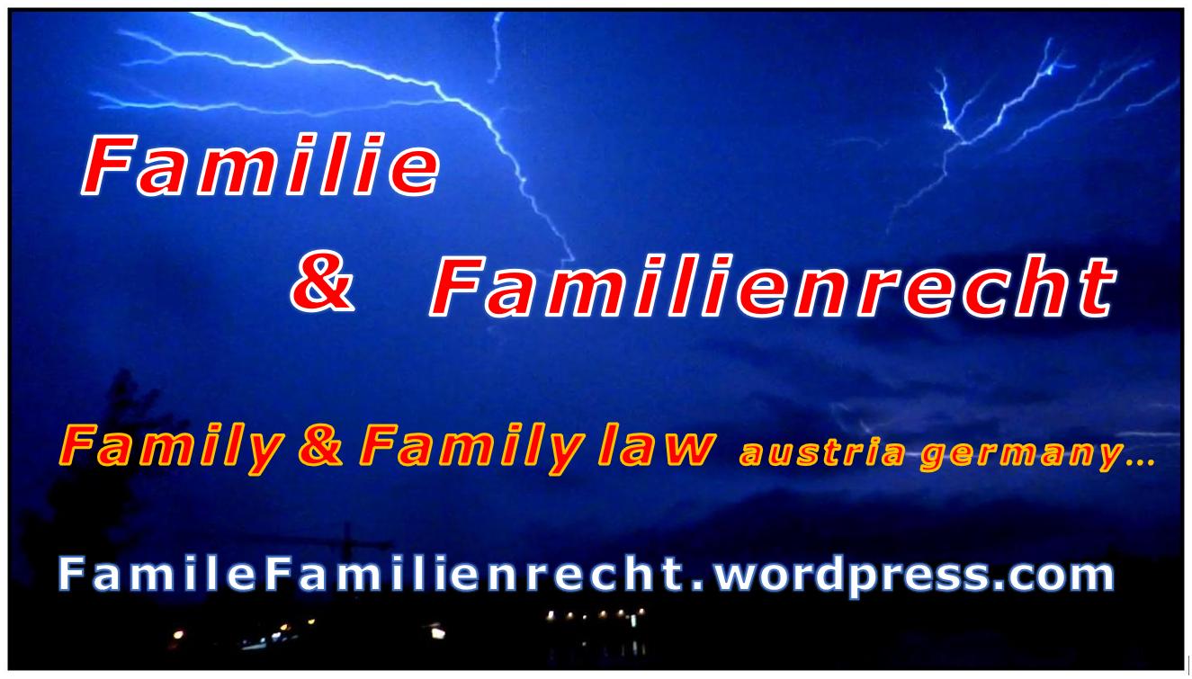 Logo FamileFamilienrecht - family law