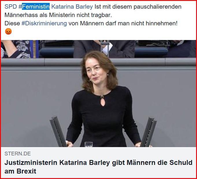 SPD Katarina Barley