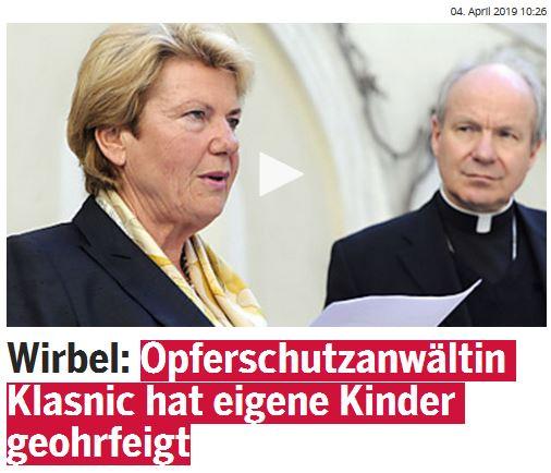 Waltraud Klasnic - Unabhängige Opferschutzanwaltschaft